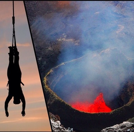 Volcano Bungee (Chile)