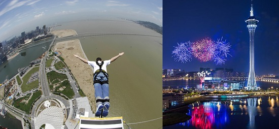 druga driga skydive macau tower