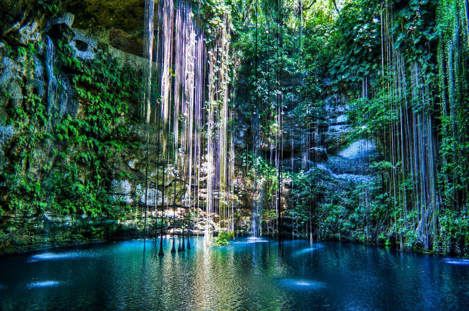 Cenotes in Yucatán Peninsula, Mexico