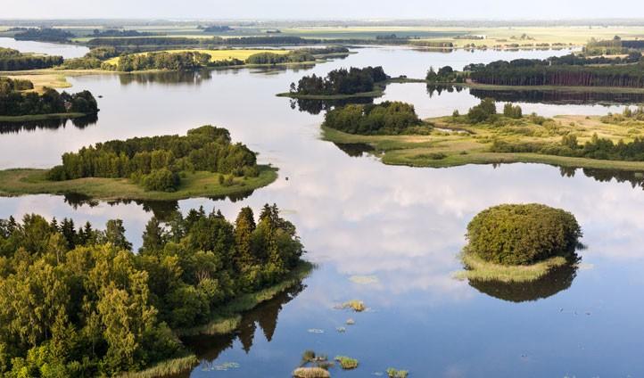 jeziora litwa